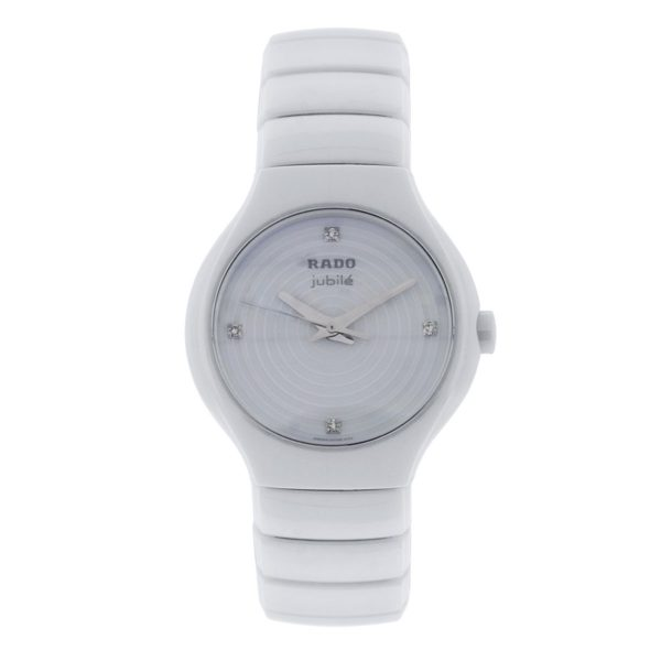 Rado True Jubile White Dial Watch
