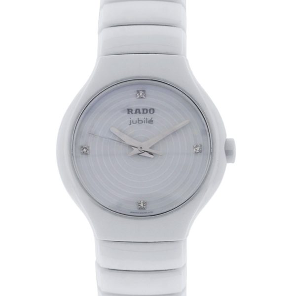 You are viewing this Rado True Jubile White Dial Ladies Watch!