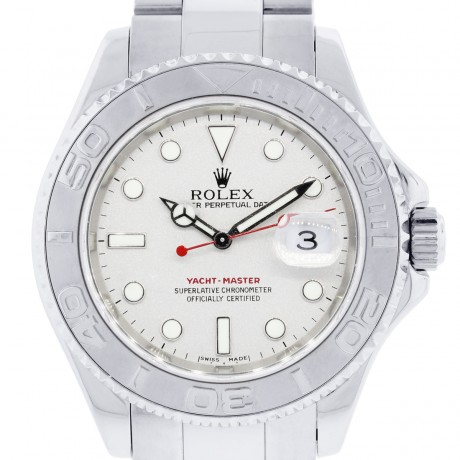 Rolex Yachtmaster 16622 Platinum and Stainless Steel Mens Watch