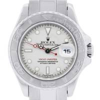 Rolex Yachtmaster 169622 Platinum and Stainless Steel Ladies Watch