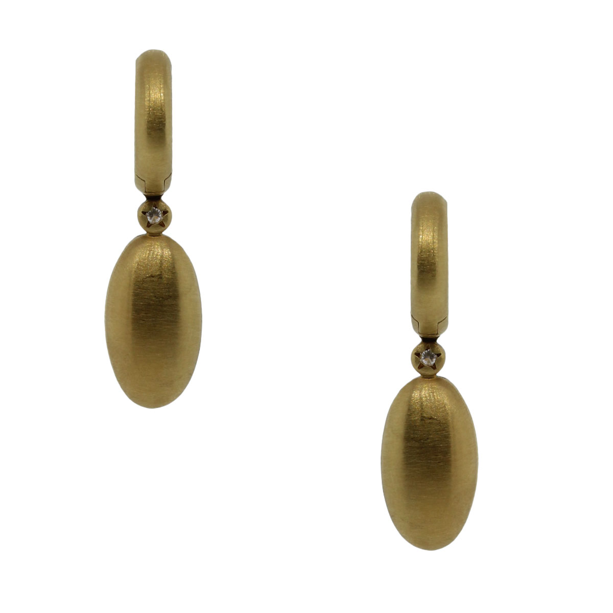 hstern earrings h 18k yellow gold clear quartz earrings 7229