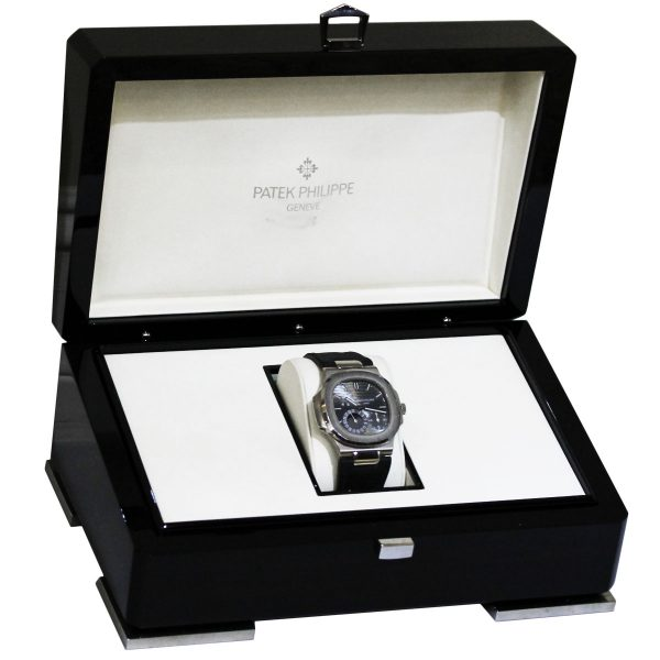 Patek Philippe 5712G Nautilus White Gold on Leather Watch box
