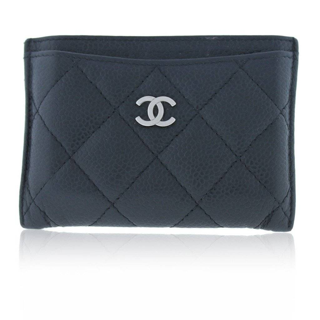 Chanel Caviar Quilted Wallet