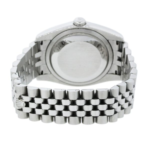 Rolex 16234 Datejust White Dial Stainless Watch