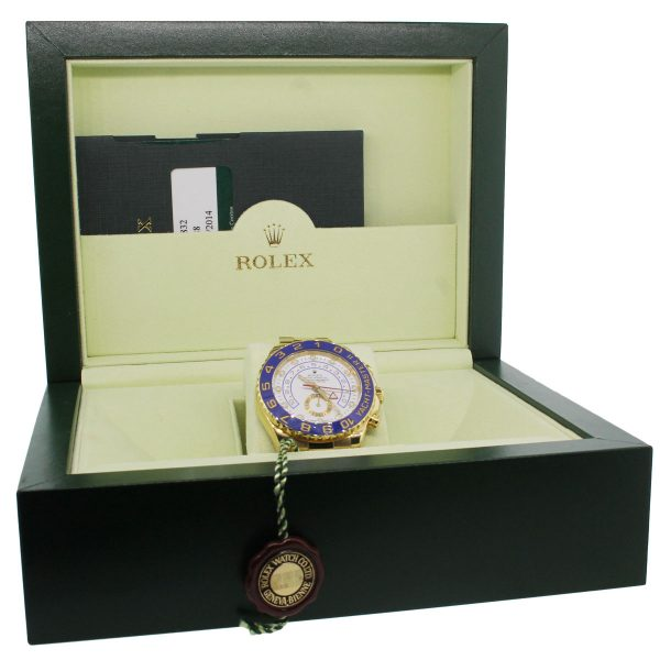 Rolex 116688 Yachtmaster II 18k Yellow Gold Watch box and papers