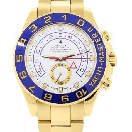 You are viewing this Rolex 116688 Yachtmaster II 18k Yellow Gold Watch!
