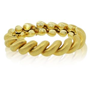 You are viewing this Buccellati San Marco 18k Yellow Gold Ladies Bracelet!