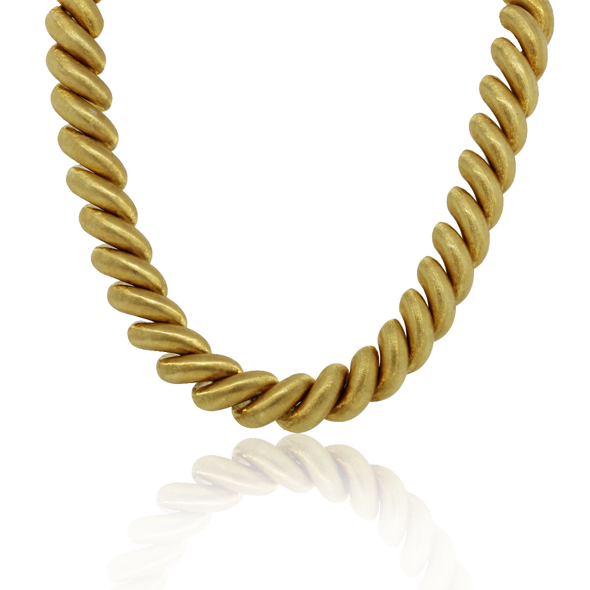 You are viewing this Buccellati San Marco 18k Yellow Gold Ladies Necklace!