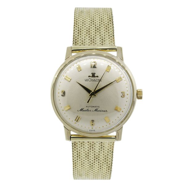 LeCoultre Master Mariner 14K Yellow Gold Gents Watch