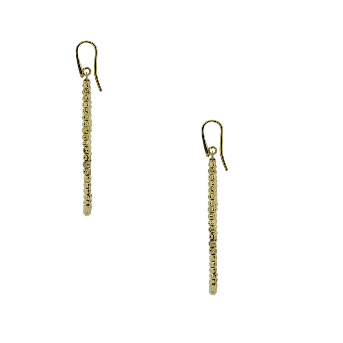 Officina Bernardi SS & 18k Gold Tear Drop Earrings