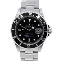 Rolex 16610 Submariner Steel Black Dial Watch