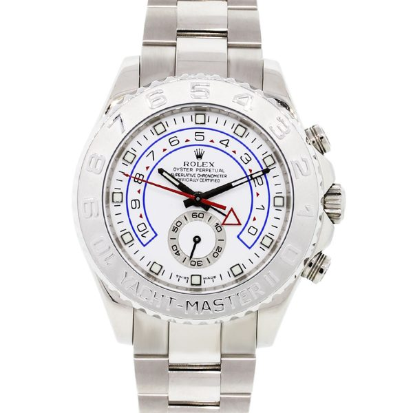 You are viewing this Rolex 116689 Yachtmaster II 18k White Gold Watch!