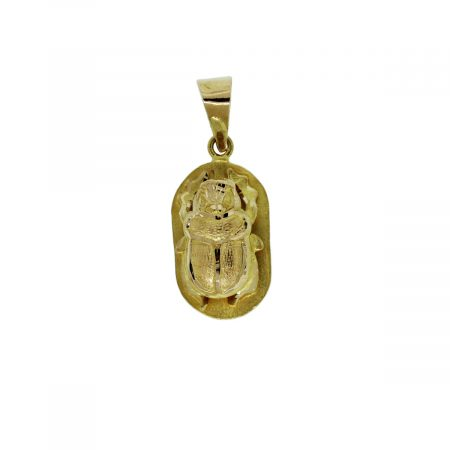 You are viewing this 22kt Yellow Gold Bug Scarab Charm!