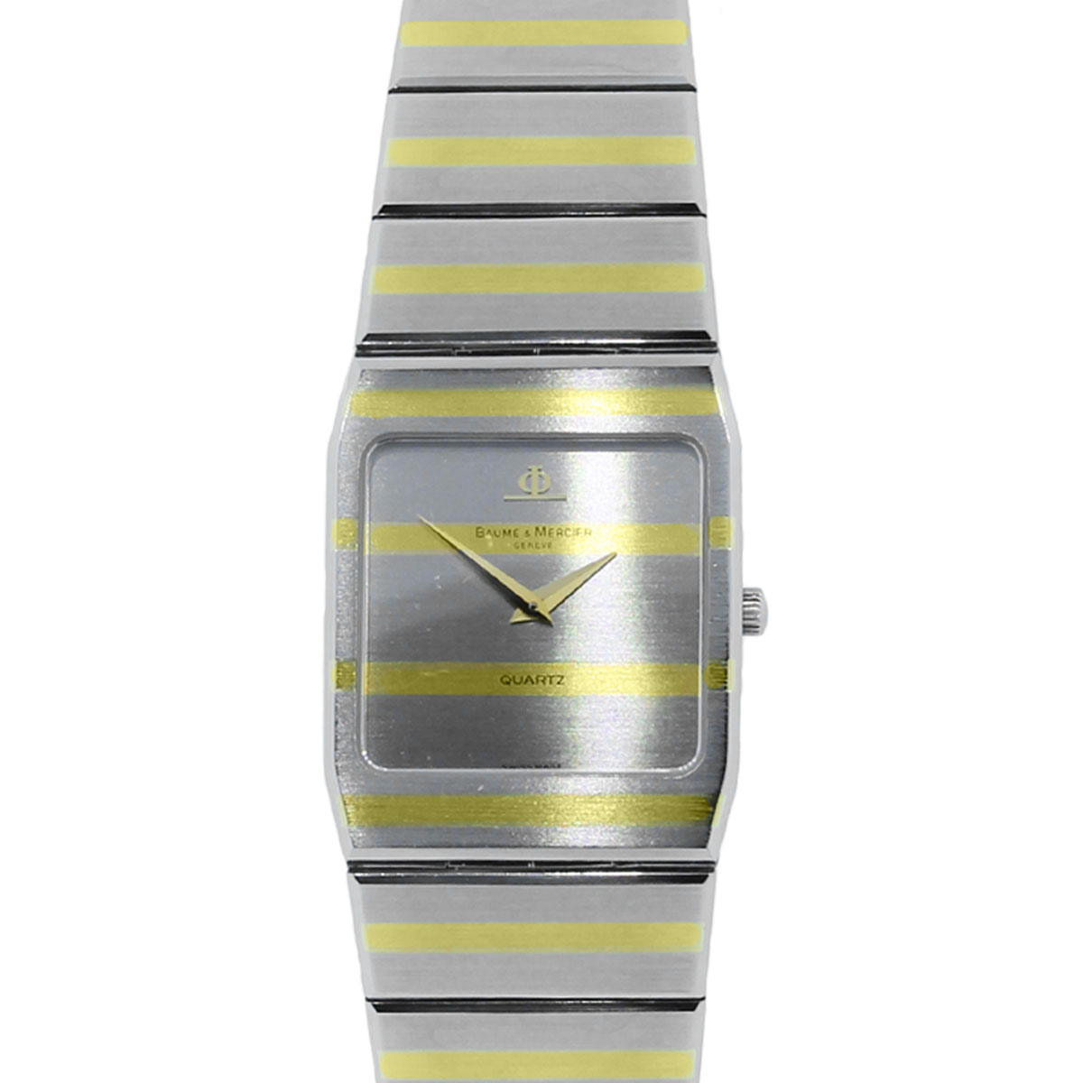 You are viewing this Baume Mercier 5739.038 Two Tone Rectangular Watch!