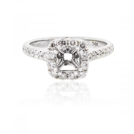 You are viewing this Neil Lane 14k White Gold .75ctw Diamond Mounting!