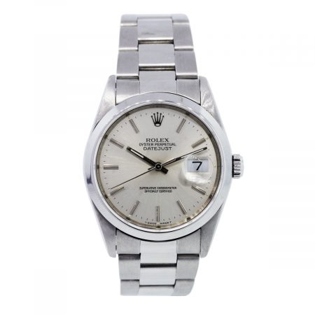 Rolex Datejust 16220 Silver Dial Gents Watch