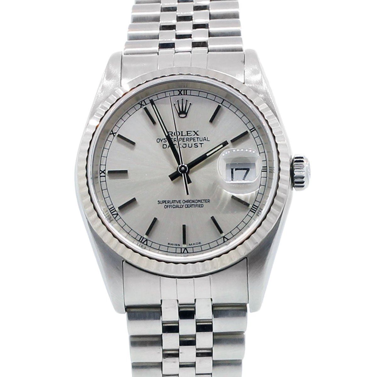You are viewing this Rolex Datejust Oyster Perpetual 16234 Jubilee Gents Watch!