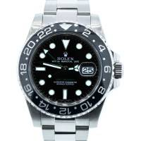 Rolex GMT Master II 116710 Steel Ceramic Bezel Watch