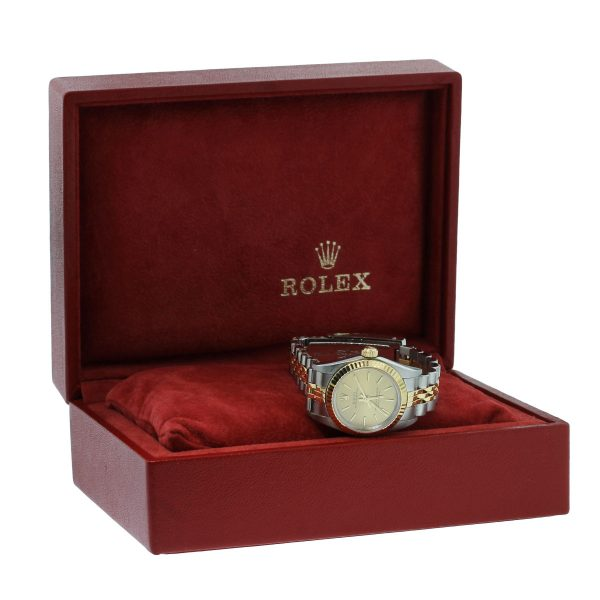 Rolex Oyster Perpetual 76193 Two Tone Ladies Watch box and papers