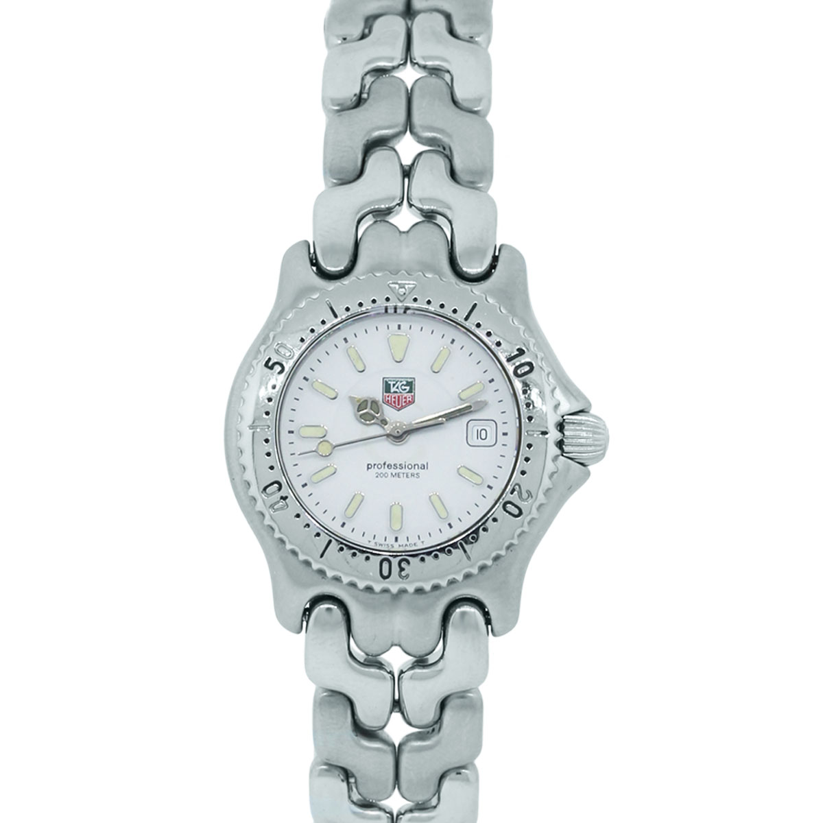 You are viewing this Tag Heuer WG1312-0 Professional Steel Ladies Watch!