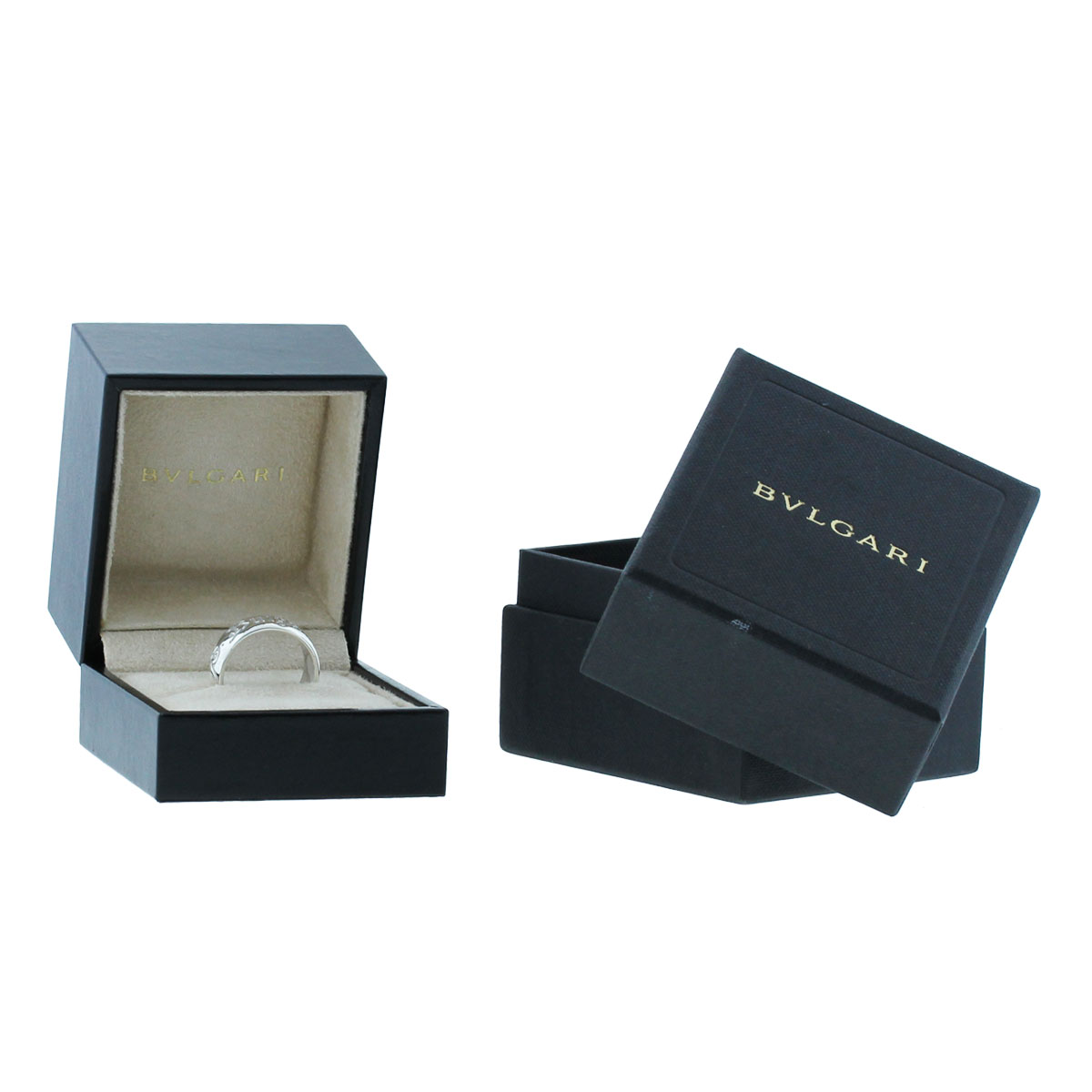 Bulgari Sterling Silver Save The Children Size 59 Ring box