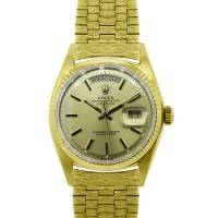 Rolex Day-Date 1803 18k Yellow Gold Spanish Dial Watch