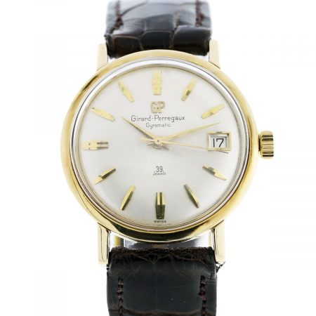 You are viewing this Girard Perregaux Gyromatic 39 Jewels 14k Gold Watch