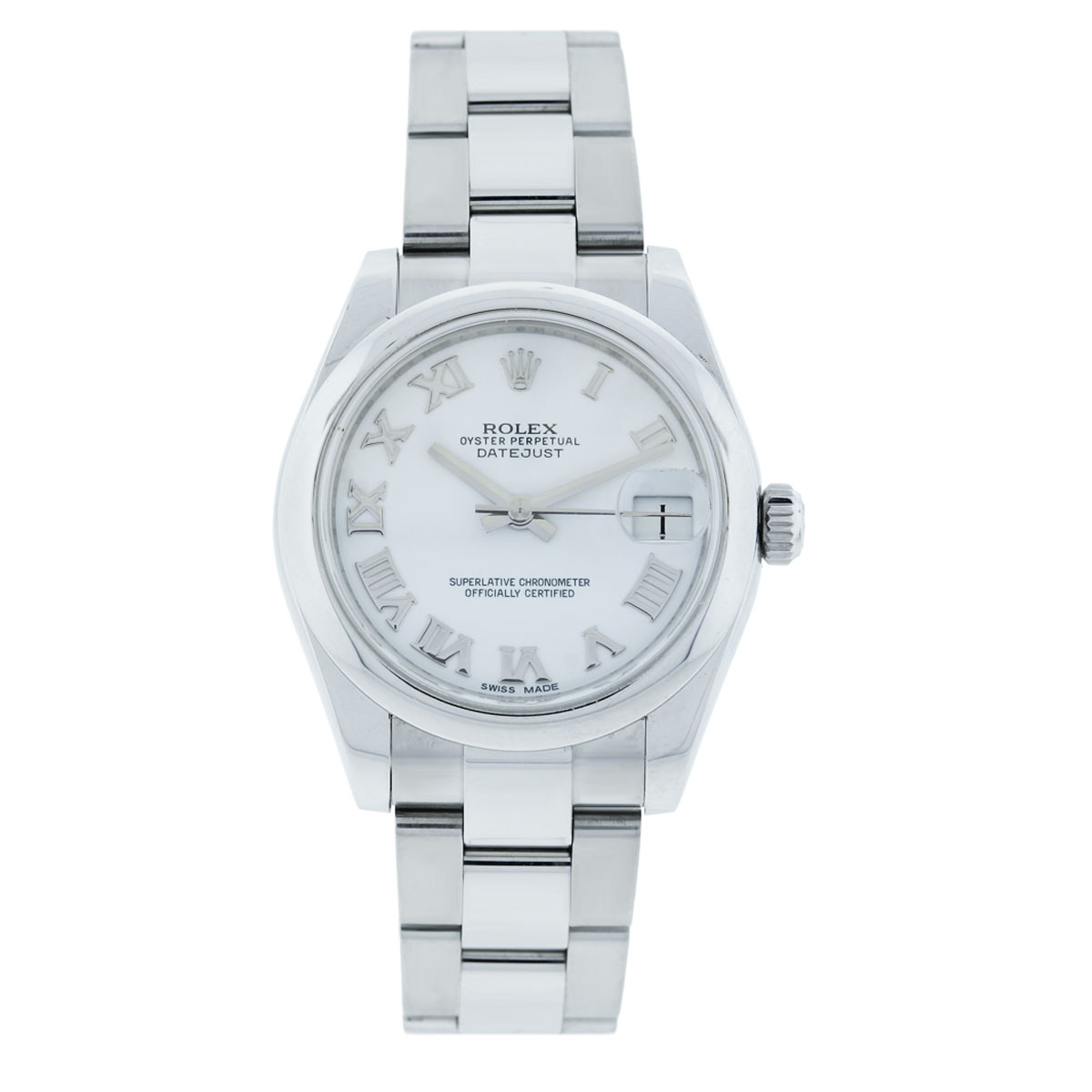 Rolex Datejust 178240 White Dial Midsize Watch