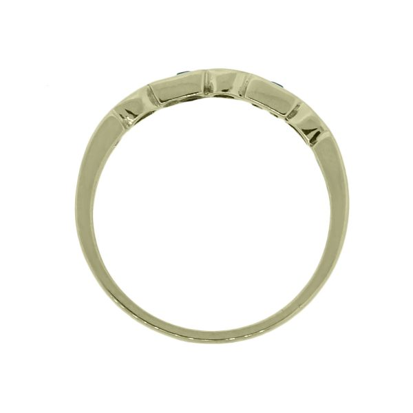 14k Yellow Gold Stackable Ring
