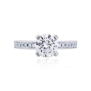 You are viewing this Platinum 1.62ct GIA Certified Diamond Engagement Ring!