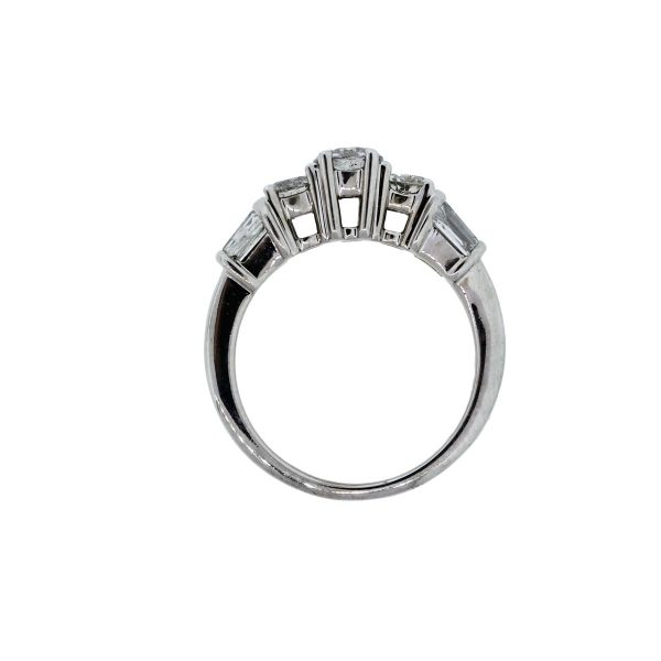 You are viewing this 14k White Gold 1.6ctw Diamond Engagement Ring!