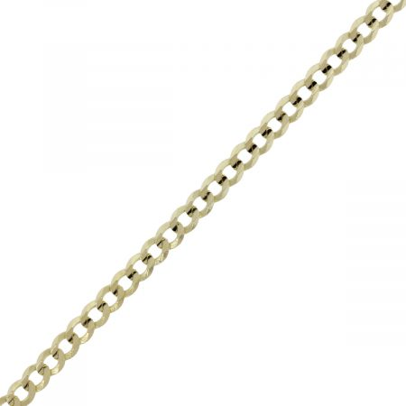 """You are viewing this 14k Yellow Gold 10"""" Chain Ankle Bracelet!"""