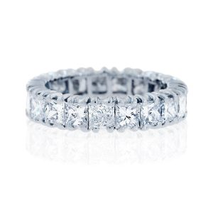 You are viewing this 5mm Platinum Princess Cut Diamond Eternity Band