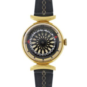 You are viewing this Ernest Borel Kaleidoscope Vintage Ladies Cocktail Watch!