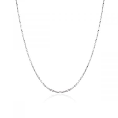 Officina Bernardi Platinum Snap Chain Necklace!