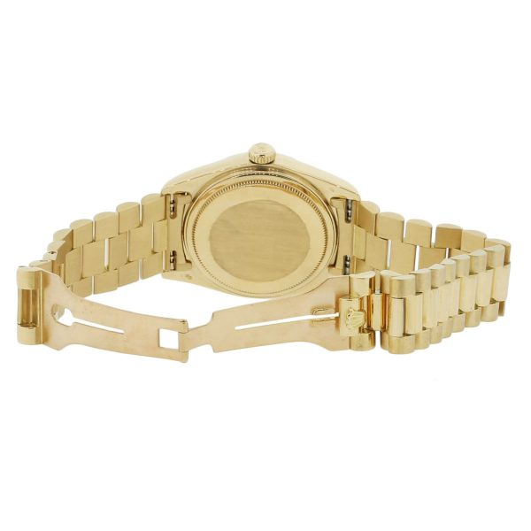 Rolex Day-Date 18038 18k Yellow Gold Lapis Watch