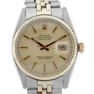 You are viewing this Rolex Datejust 16013 Two Tone Mens Watch