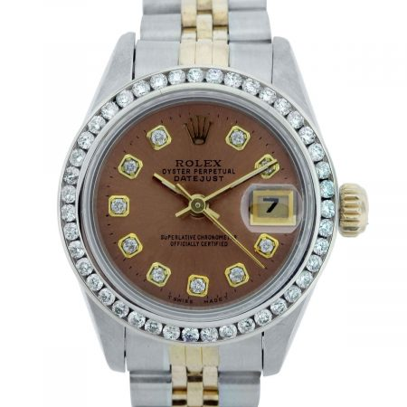 You are viewing this Rolex Datejust 69163 Two Tone Ladies Watch