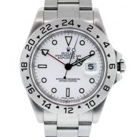 Rolex Explorer II 16570 White Dial Stainless Steel Watch