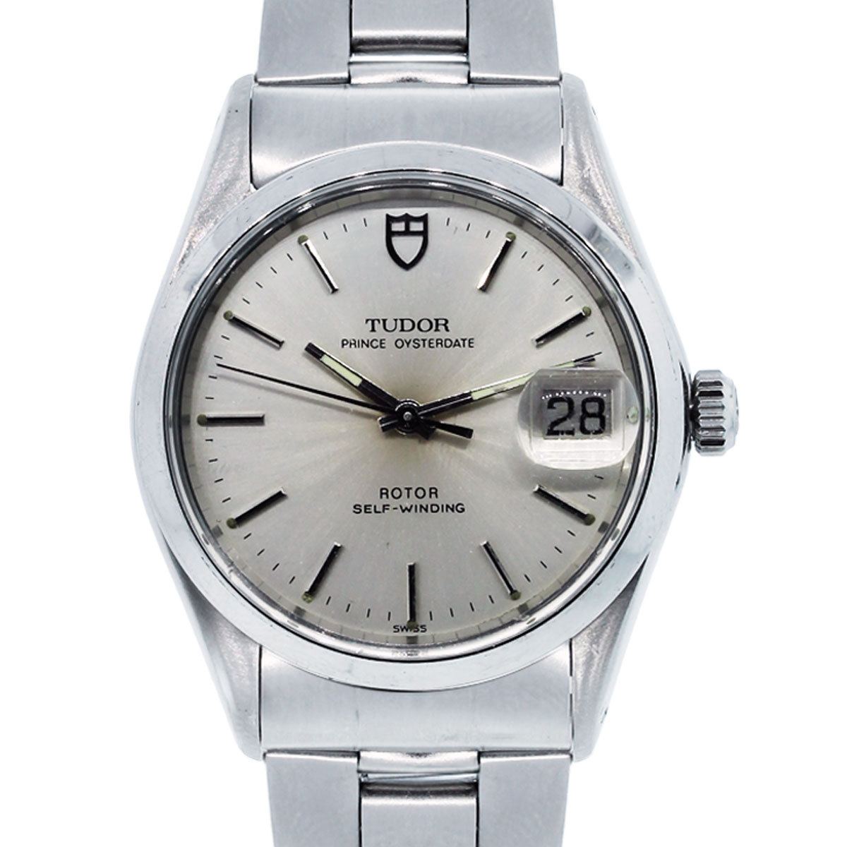 Tudor prince oysterdate 16352 stainless steel watch for Stainless watches
