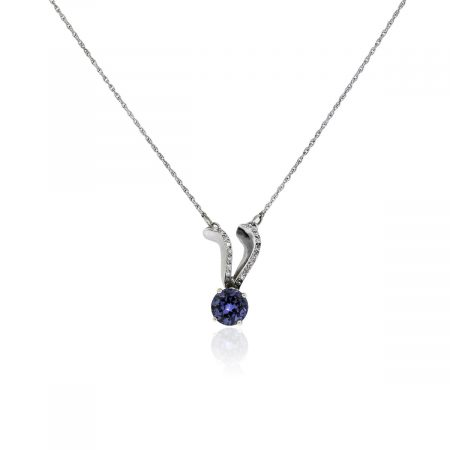 You are viewing this Alexandrite Necklace!