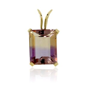 You are viewing this 14k Yellow Gold Ametrine Pendant