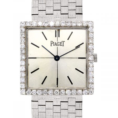Piaget 73794 18K White Gold Vintage Watch
