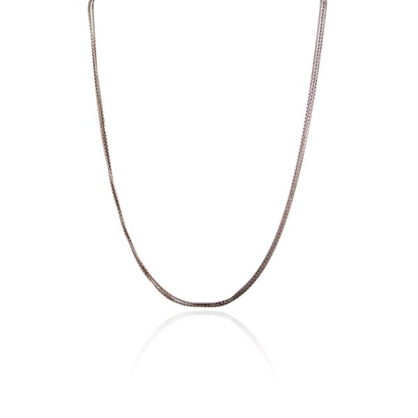 Officina Bernardi Rose Gold & Sterling Silver Triple Chain!