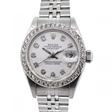 You are viewing this Rolex Datejust 79190 Diamond Bezel & Dial Ladies Watch!