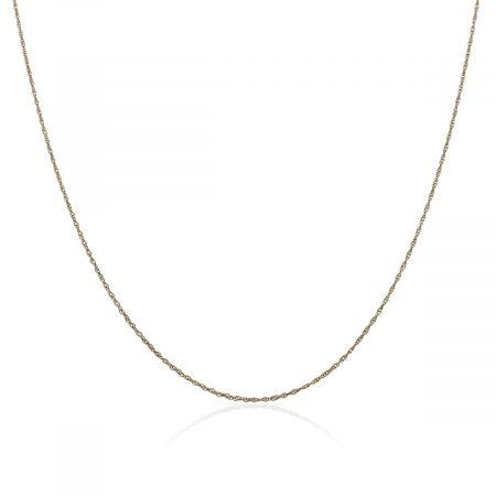 "You are viewing this 14k Yellow Gold 15.50"" Chain Necklace!"