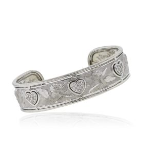Carrera Y Carrera diamond Cherub bangle