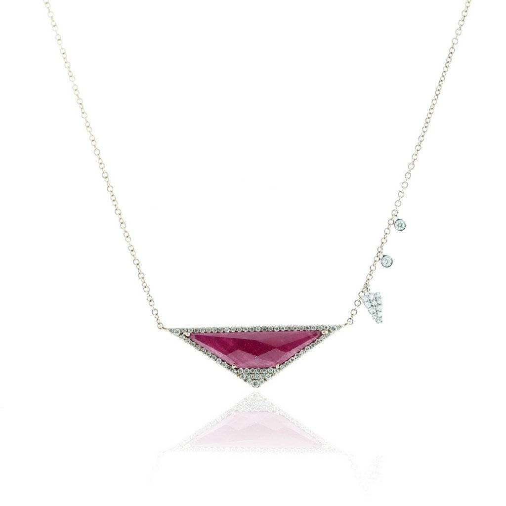 Meira T Ruby Necklace