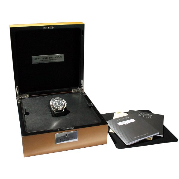 panerai box and papers
