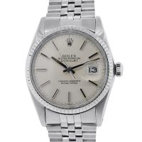 Rolex 16014 Datejust Silver Oyster Dial Gents Watch
